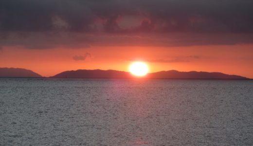 沖縄南部の夕日スポットに行ってきた!